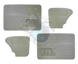 deurpanelen voor & achter van 65 tot 66 lichtgrijs, image 1