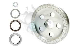 Krukas poelie aluminium o-ring sandseal, image 1