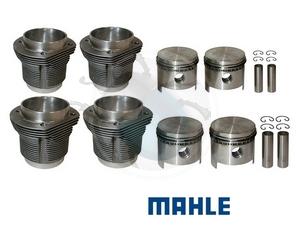Zuiger & cylinder set 87mm 1641cc gesmeden, image 1