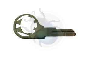 Vw kever sleutel blank van 61 tot 66, image 1
