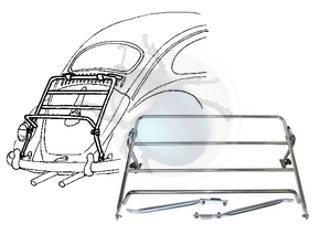 bagagerekje op achterklep, image 1