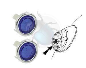 reflector voor achterlicht bluedot, image 1