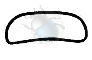 voorruit rubber std tot 52 origineel, image 1