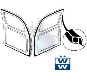 deurrubbers tot 55 Wolfsburg West per paar, image 1