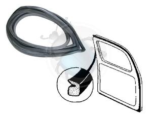 deurrubber na 66 links, image 1
