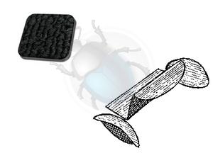 tapijtset kattebak cabrio tot 72 zwart, image 1
