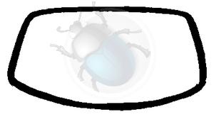 voorruit rubber callook van 73 tot 79, image 1