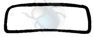 voorruit rubber van 50 tot 56, image 1