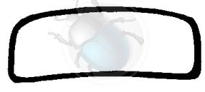 voorruit rubber van 57 tot 64, image 1