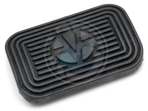 pedaal rubber van 71 tot 79 automaat, image 1