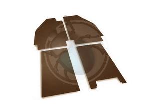 rubber tarijtset voor & achter van 49 tot 52  bruin, image 1