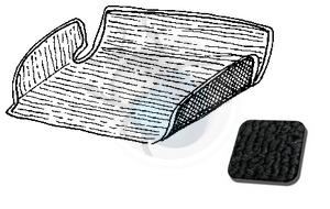tapijtset in koffer tot 67 zwart, image 1