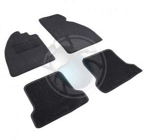 vloermatten set 4 stuks zwart empi, image 1