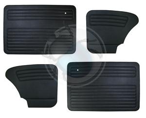 deurpanelen voor & achter na 67 zwart, image 1