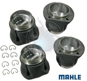zuiger & cylinder set 85.5 mm gesmeden, image 1