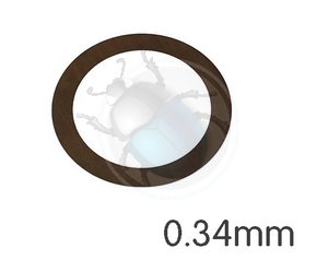 Vw kever afstel ring vliegwiel 0.34 mm, image 1