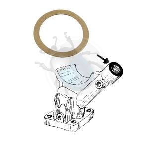 dynamo steun pakking voor carter ontluchting, image 1
