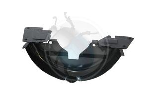 motor beplating onder poelie zwart, image 1