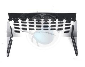 firewall met louvers 3-delig, image 1
